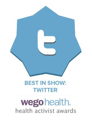 WEGO Health Activist Awards 2015 - Best In Show: Twitter Winner Julie Cerrone
