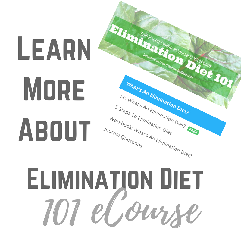 Learn More About Elimination Diet 101 Ecourse